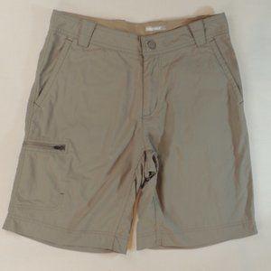 Marmot Men's Tan Shorts with Zipper Pockets Sz 30